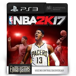NBA 2K17 - PS3 - Mídia Digital