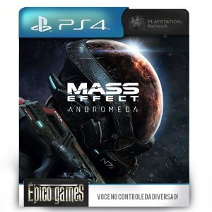 Mass Effect Andromeda - PS4 - Mídia Digital
