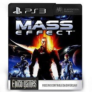 Mass Effect - PS3 - Mídia Digital