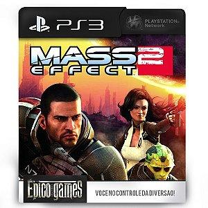 Mass Effect 2 - PS3 - Mídia Digital