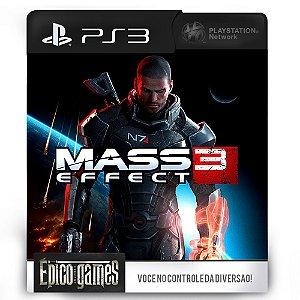 Mass Effect 3 - PS3 - Mídia Digital