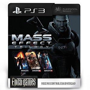 Mass Effect Trilogy - PS3 - Mídia Digital