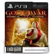 God of War Origins Collection Chains of Olympus - PS3 - Mídia Digital