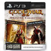 God of War Origins Collection - PS3 - Mídia Digital