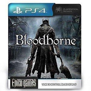 Bloodborne - PS4 - Mídia Digital