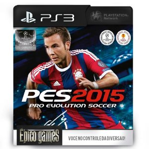 PES 2015 - Pro Evolution Soccer - PS3 - Midia Digital