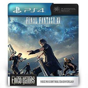Final Fantasy XV - PS4 - Midia Digital