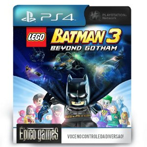 LEGO Batman 3: Beyond Gotham - PS4 - Mídia Digital