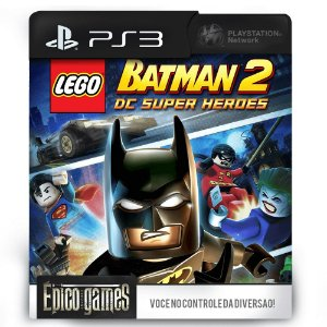 LEGO Batman 2: DC Super Heroes - PS3 - Mídia Digital