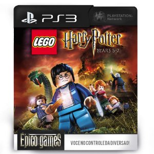 LEGO Harry Potter: Years 5-7 - PS3 - Mídia Digital