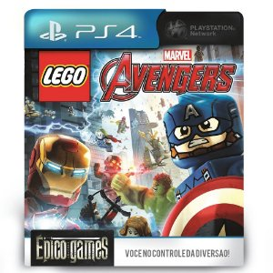 LEGO Marvel's Avengers - PS4 - Mídia Digital