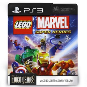 LEGO Marvel Super Heroes - PS3 - Mídia Digital