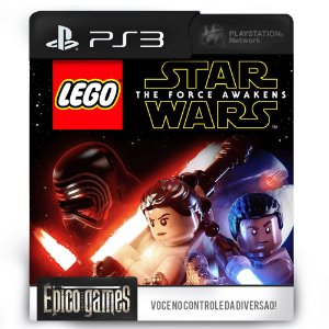 LEGO Star Wars: The Force Awakens - PS3 - Mídia Digital