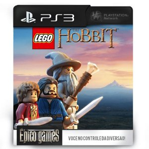 LEGO O Hobbit - PS3 - Mídia Digital