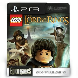 LEGO The Lord of the Rings - PS3 - Mídia Digital
