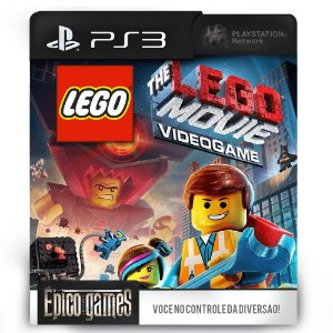 The LEGO® Movie Videogame - PS3 - Mídia Digital