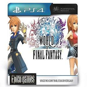 World of Final Fantasy - PS4 - Mídia Digital