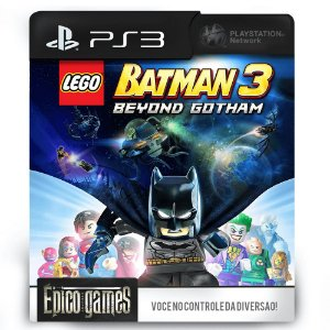Lego Batman 3 Beyond Gotham - PS3 - Mídia Digital
