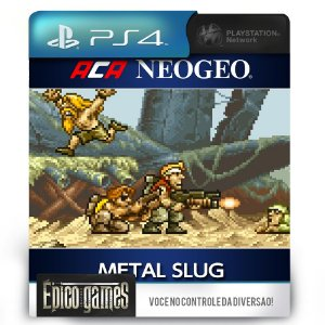 Aca NeoGeo Metal Slug - PS4 - Mídia Digital