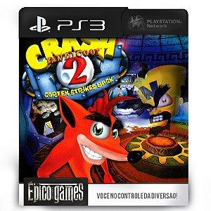Crash Bandicoot 2 - PS3 - Mídia Digital