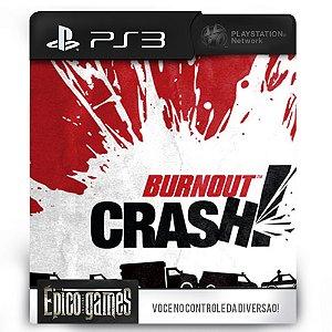 Burnout Crash - PS3 - Mídia Digital