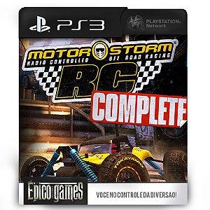 MotorStorm RC Complete Edition - PS3 - Mídia Digital