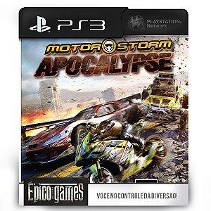 MotorStorm Apocalypse - PS3 - Mídia Digital