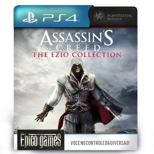 Assassin's Creed The Ezio Collection - PS4 - Mídia Digital