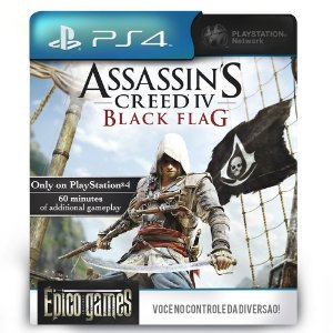 Assassin's Creed IV Black Flag - PS4 - Mídia Digital