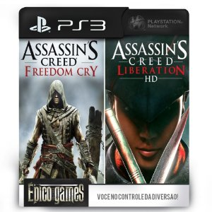 Assassin's Creed Liberation HD and Freedom Cry Bundle - PS3 - Mídia Digital