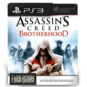 Assassin's Creed Brotherhood - PS3 - Mídia Digital
