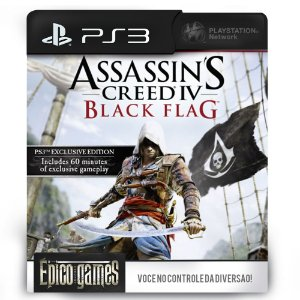 Assassin's Creed IV Black Flag - PS3 - Mídia Digital