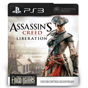 Assassin's Creed Liberation HD - PS3 - Mídia Digital
