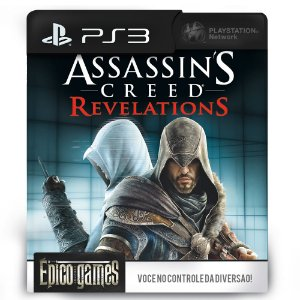 Assassin's Creed Revelations - PS3 - Mídia Digital