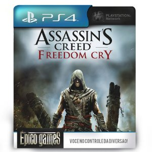 Assassin's Creed Freedom Cry - PS4 - Mídia Digital