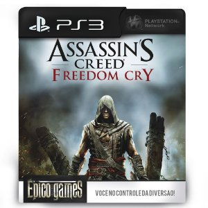 Assassin's Creed Freedom Cry - PS3 - Mídia Digital