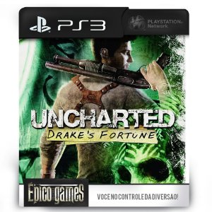 UNCHARTED: Drake's Fortune - PS3 - Mídia Digital