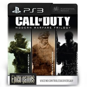 Call of Duty: Modern Warfare Bundle - PS3 - Mídia Digital