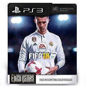 Fifa 18 - PS3 - Midia Digital
