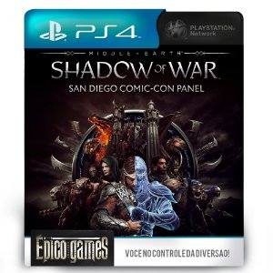 Middle-earth: Shadow of War - PS4 - Mídia Digital