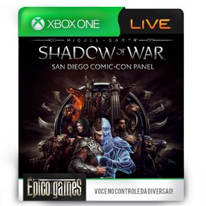 Middle-earth: Shadow of War - Xbox One - Mídia Digital