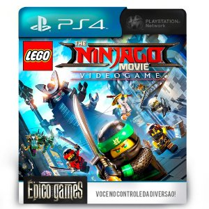 The LEGO Ninjago Movie: Vídeo Game - PS4 - Mídia Digital