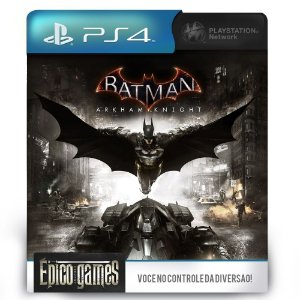 Batman Arkham Knight - Português - PS4 - Mídia Digital