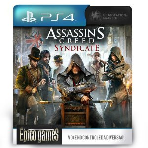 Assassin's Creed Syndicate - PS4 - Mídia Digital