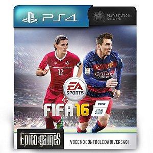 FIFA 16 - PS4 - Mídia Digital