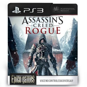Assassin's Creed Rogue - PS3 - Midia Digital