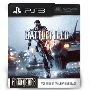 Battlefield 4 - PS3 - Mídia Digital