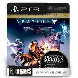 Destiny The Taken King - Legendary Edition - PS3 - Mídia Digital