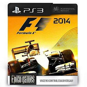 F1 2014 - Formula 1 - PS3 - Midia Digital