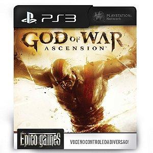 God of War Ascension - PS3 - Mídia Digital